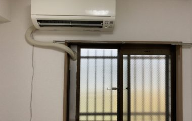武蔵村山市 H様邸 窓パネル使用エアコン移設工事 東京都羽村市の住宅リフォーム・リノベーション会社です